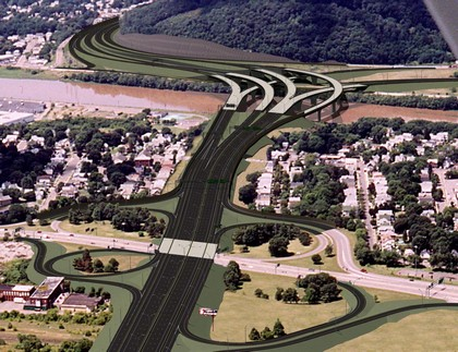 Interstate 86 from the east will include safer new bridges and easier ways to merge with Interstate 81 traffic.